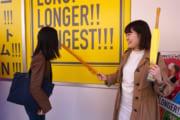 女子大生が「日本一長いフード」専門店でインスタ映えに挑戦した結果…