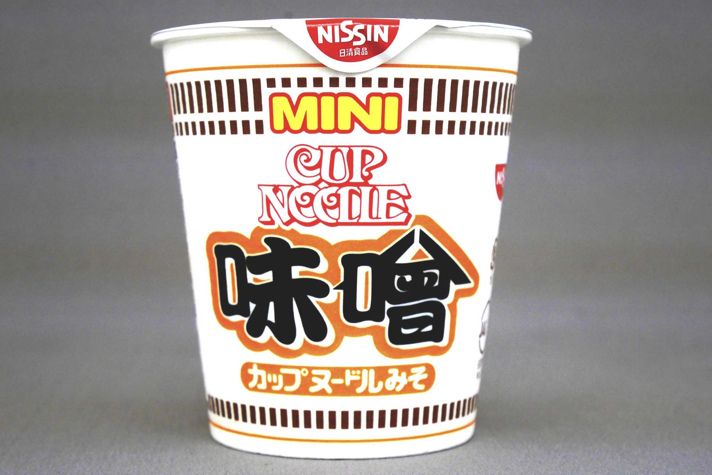 日清カップヌードル ミニ 味噌