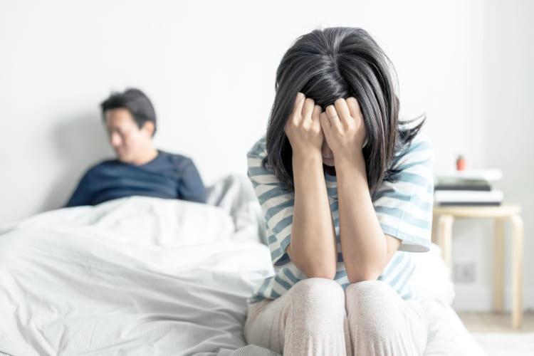 離婚の危機を迎えた夫婦