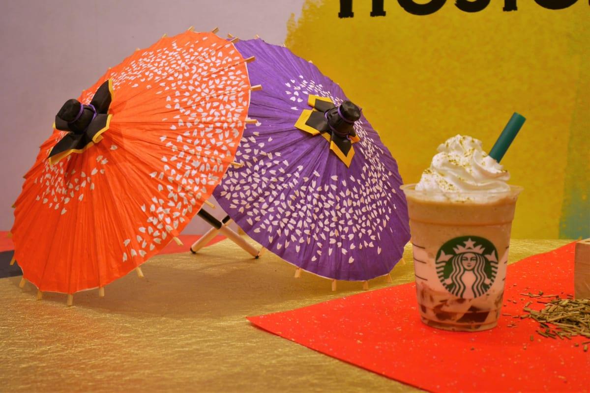 加賀棒ほうじ茶フラペチーノ イベント画像