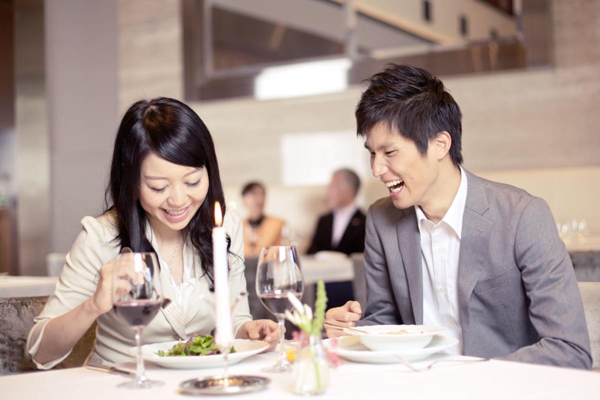 食事デート