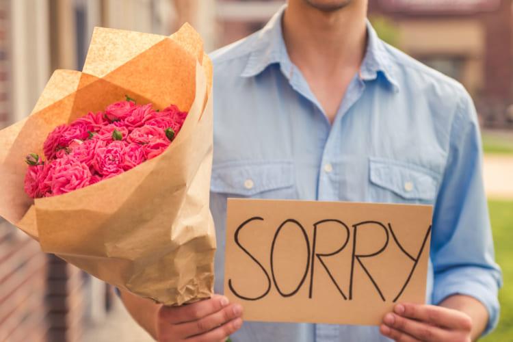 謝罪とプレゼント