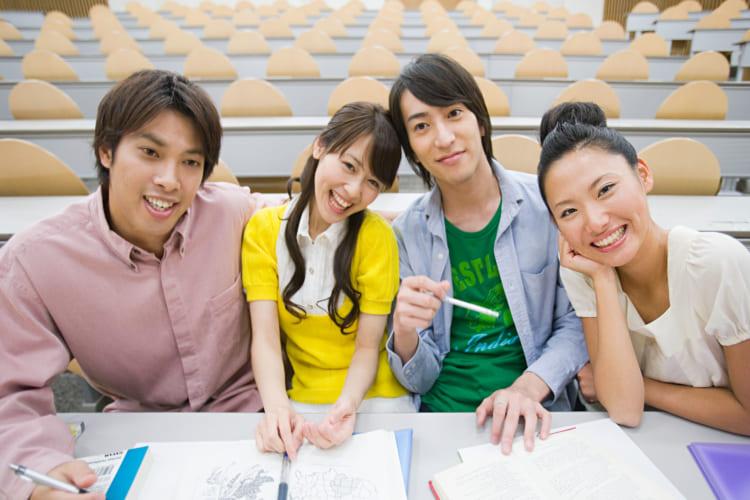 大学生の集団