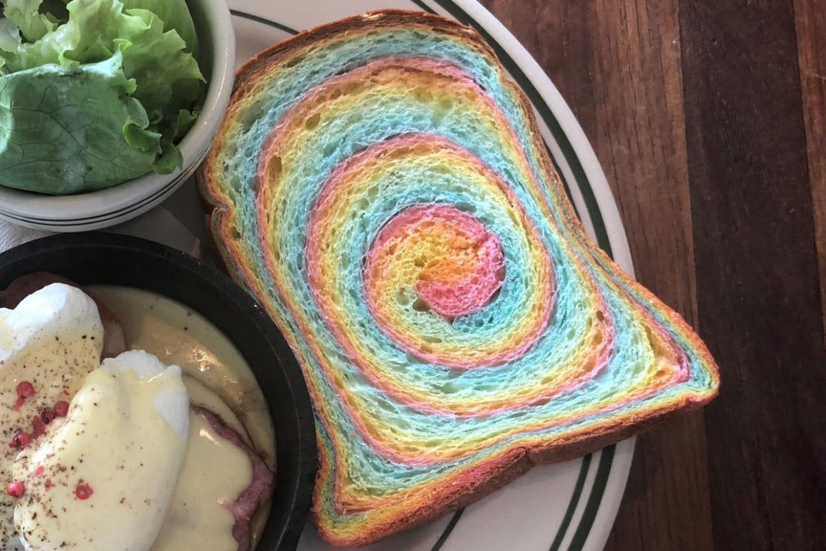 虹色のパン
