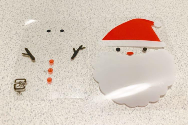 雪だるまとサンタさん