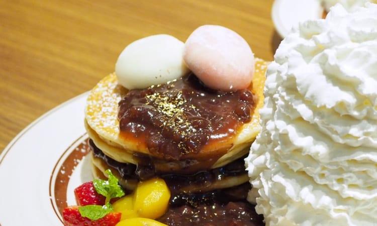 ぜんざいパンケーキ