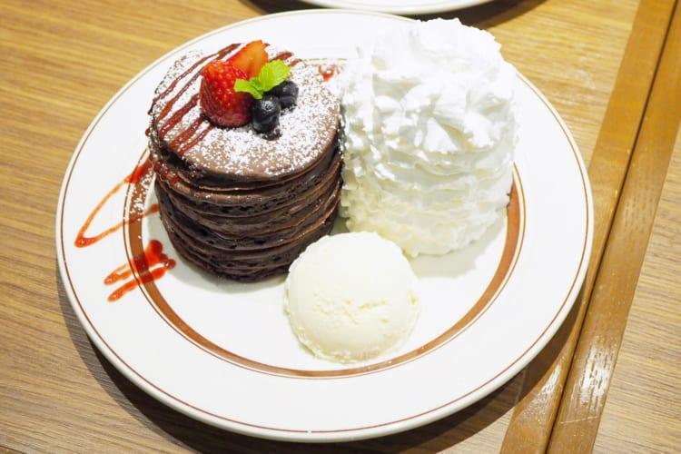 フォンダンショコラパンケーキ