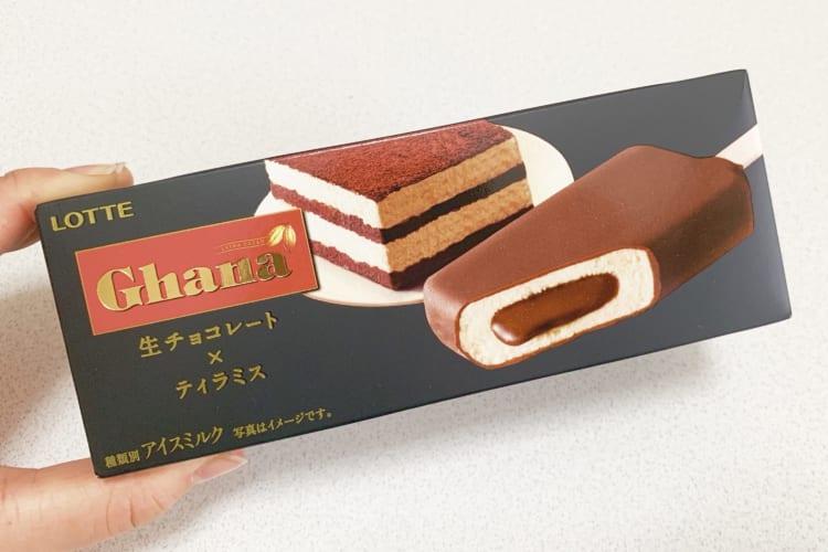 ガーナ生チョコレートティラミス