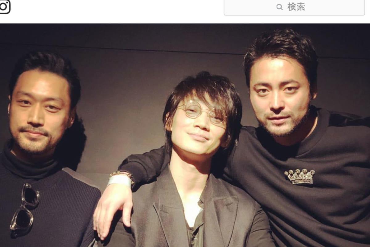 綾野剛、山田孝之、Instagram