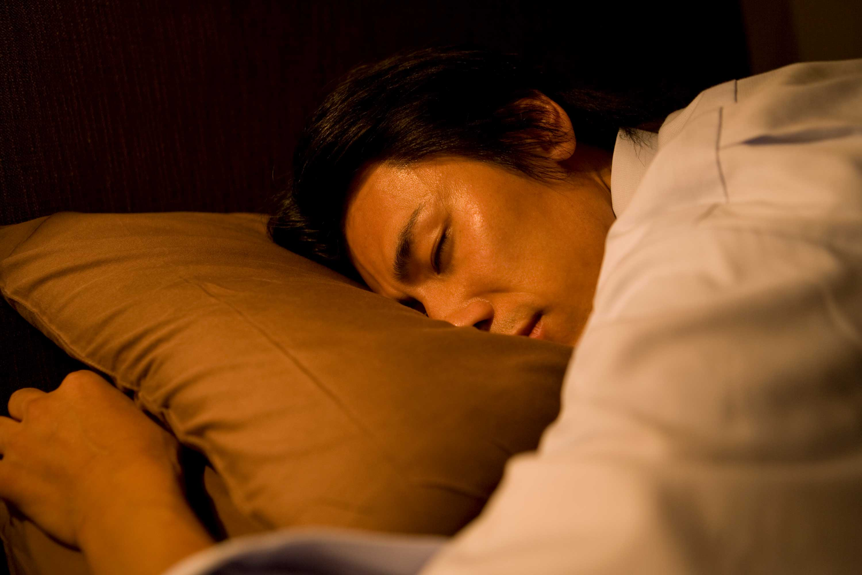 年上男性の睡眠