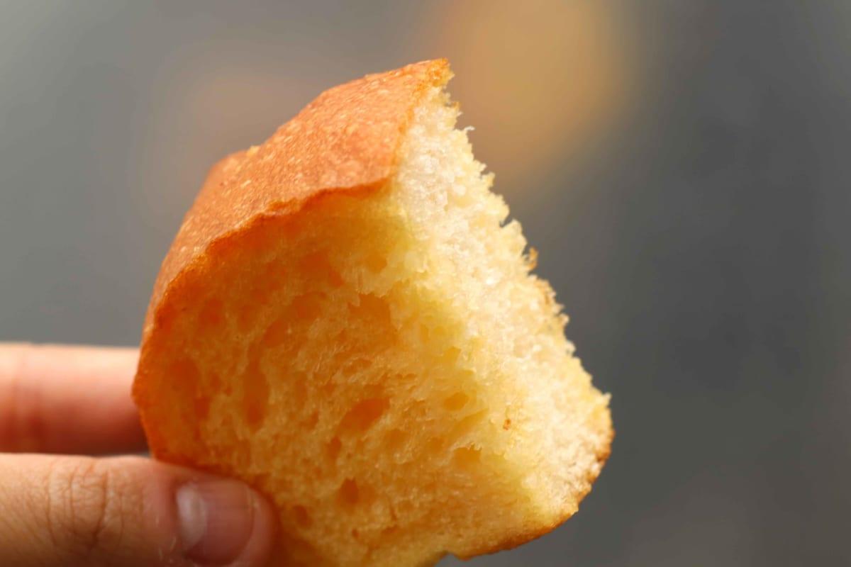 フランスパンのフレンチトースト