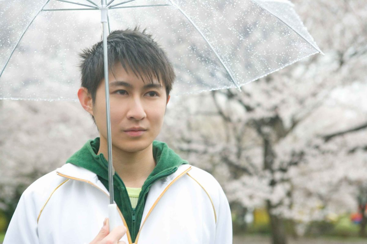 雨の日の彼氏