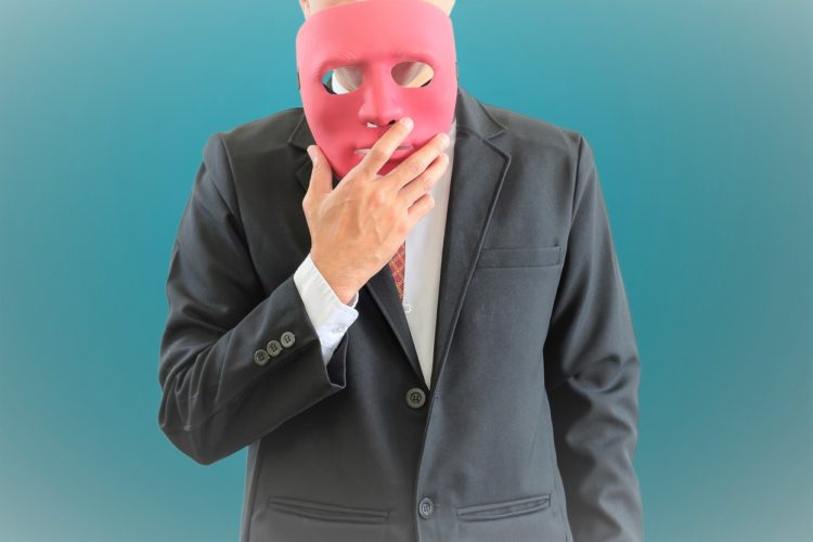 仮面の男性
