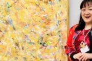 エド・はるみが二科展で初入選した作品を公開 「爪痕を残していきたい…」