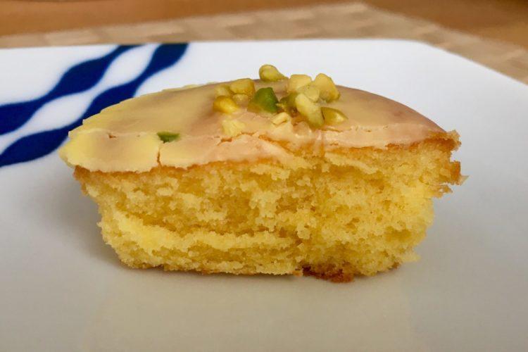 糖質オフのアーモンドケーキレモン