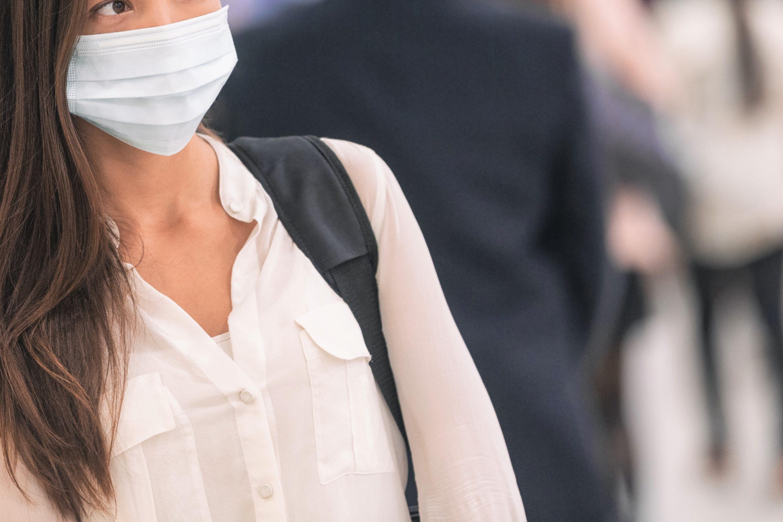 マスクで外出