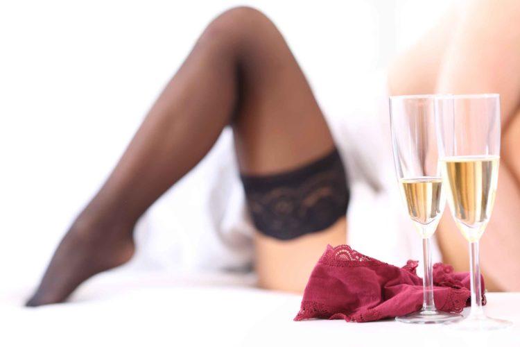 お酒 ベッド